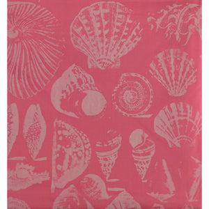 Lilly Pulitzer Pink 'Crab & Seashell' Print Fabric