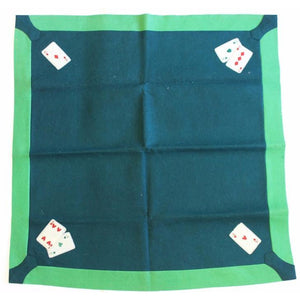 Bridge Playing Card Table Felt Cover