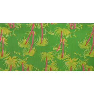 Lilly Pulitzer Pink & Lime 'Palm Tree' Fabric