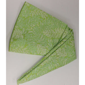 Lilly Pulitzer Green Circular Leaves Table Cover