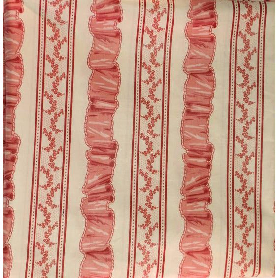 Pink Ribbon Pattern Fabric
