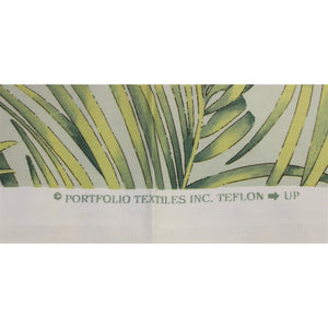 Vintage Portfolio Fabric w/ Palm Leaf Pattern