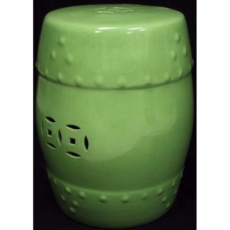 Chinese Green Ceramic Stand