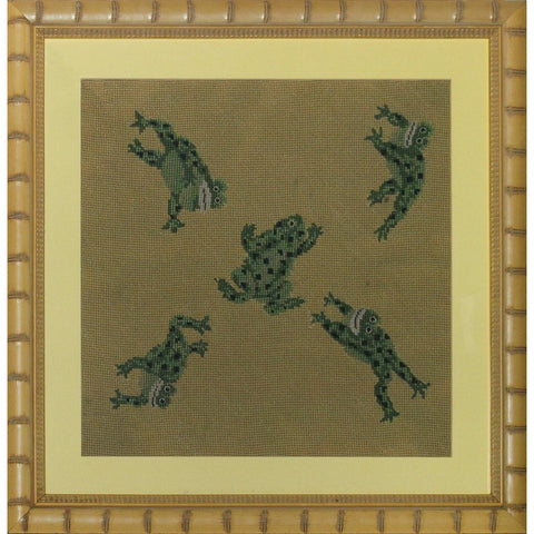 Five Leaping Frogs