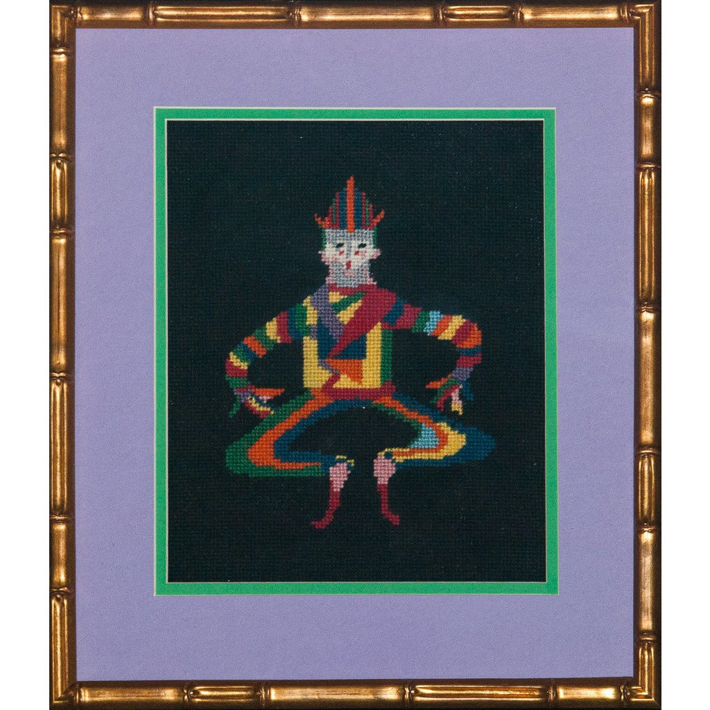 Needlepoint Court Jester