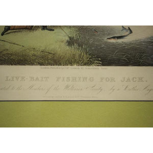 Live-Bait Fishing for Jack by James Pollard