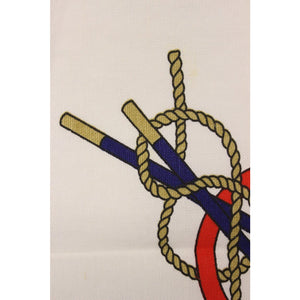 Three Pc. Nautical Gucci Cotton Twill Place Mats