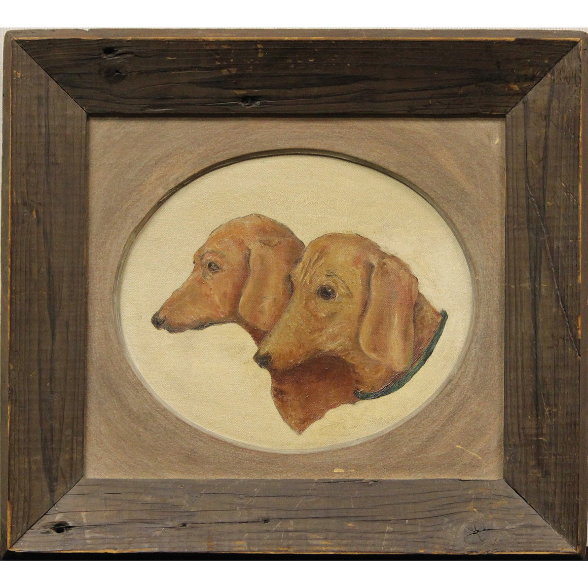 'Pair of Dachshunds'