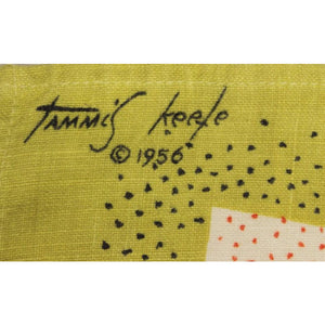 Tammis Keefe 'Old Fashioned Glasses' Linen Towel