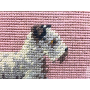 Needlepoint Terrier