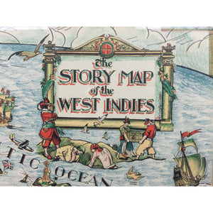 The Story Map of The West Indies