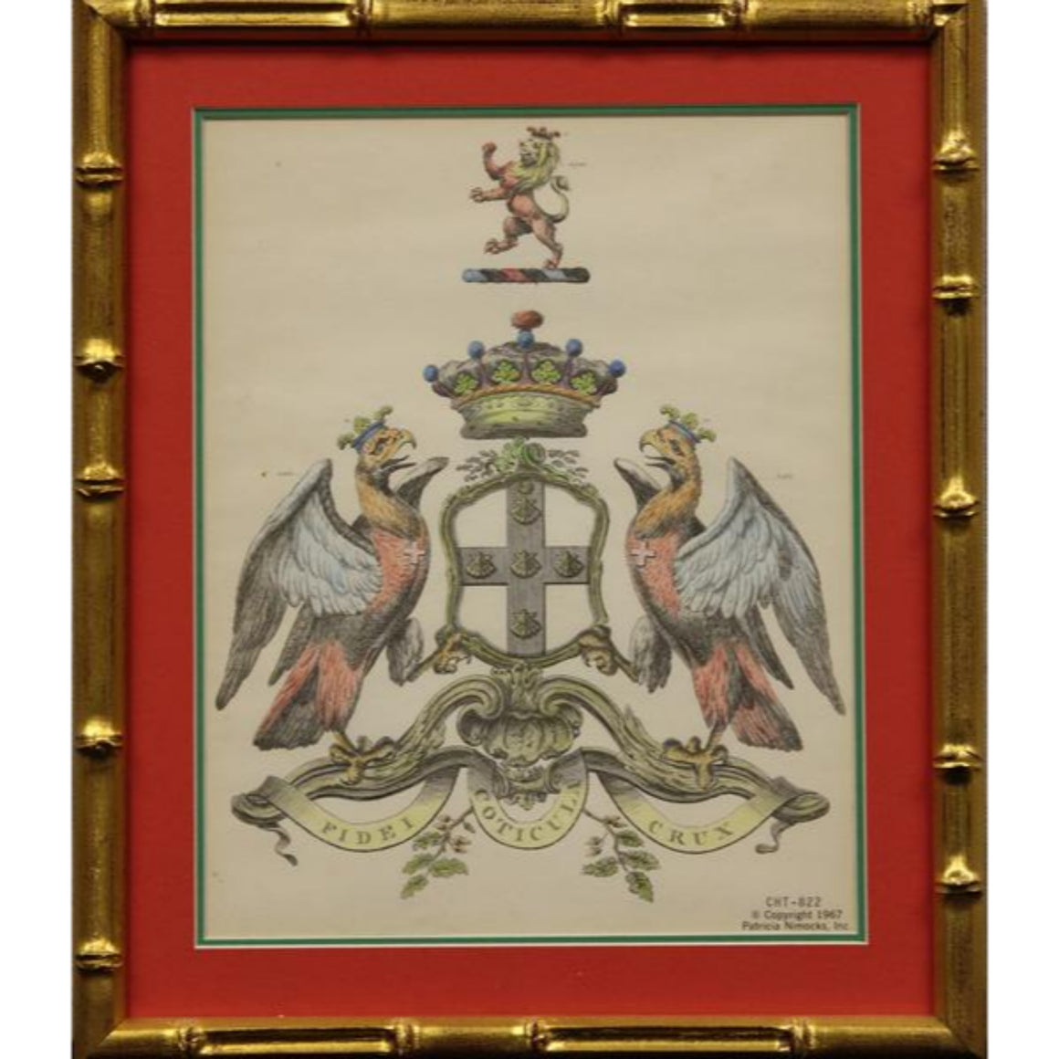 Duke of Buckingham Heraldic Coat-of-Arms