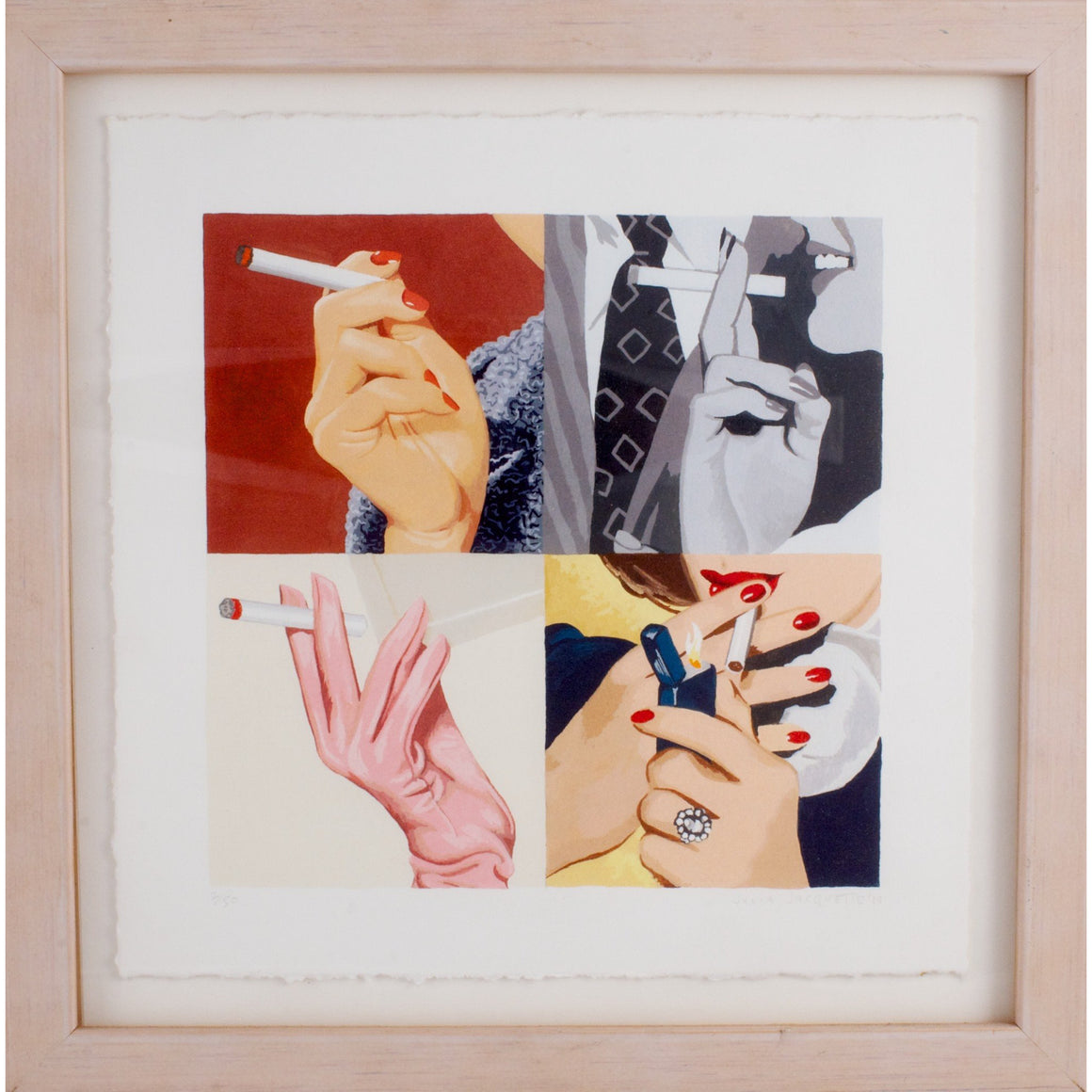 Women's Hands, Smoking