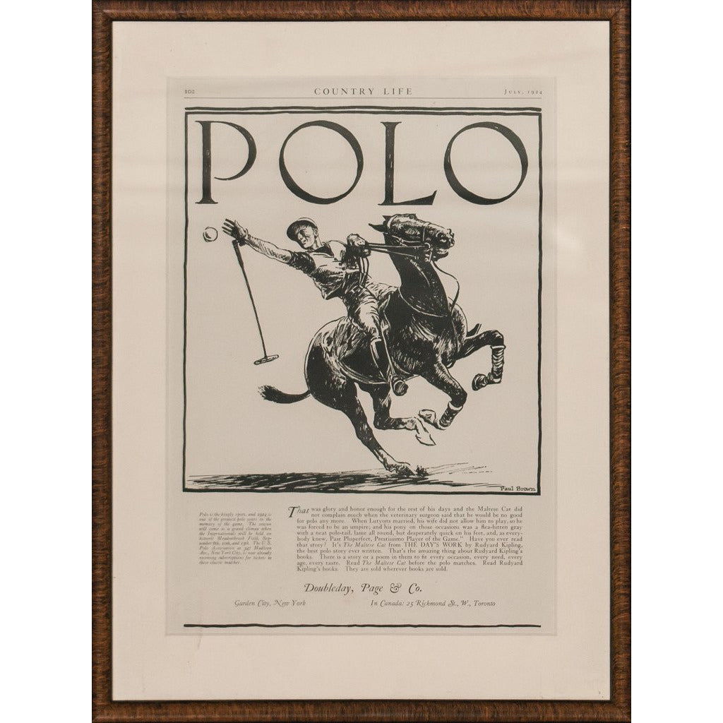 Polo in Country Life
