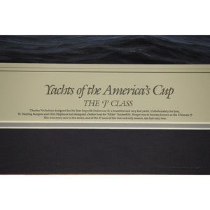 Yachts of the America's Cup