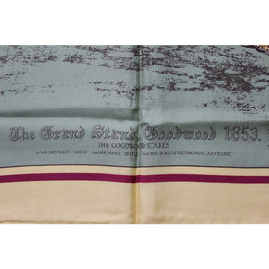 Liberty of London The Grand Stand Goodwood Stakes 1853 Silk Scarf