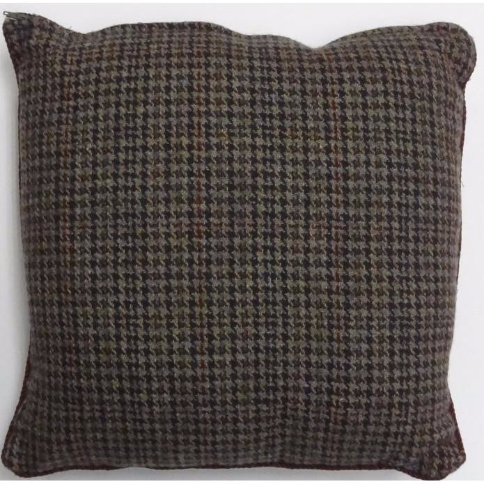 Houndstooth Tweed Pillow