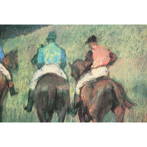Racehorses in a Landscape