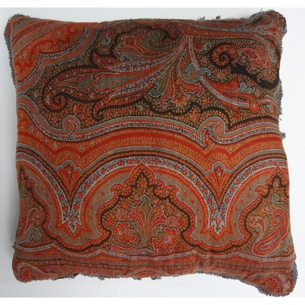 Maharaja Paisley Pillow
