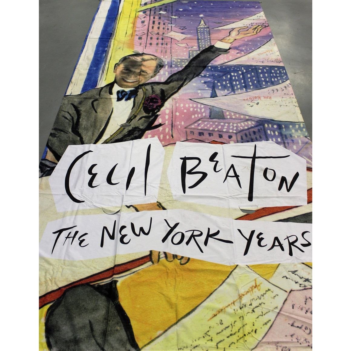Cecil Beaton's New York Museum Banner