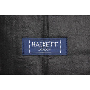 'Hackett of London Green & Pink Moire Silk Cummerbund'