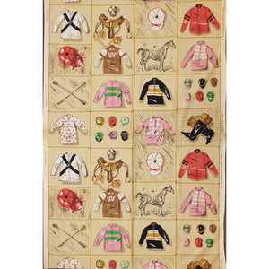 Schumacher Jockey Silks Fabric
