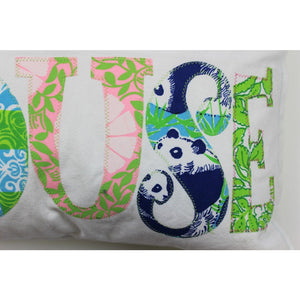 "Lilly Pulitzer ""Beach House"" Multicolor Pillow"