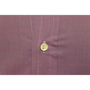 Men's Plum Chambray Button Down Shirt Sz: M