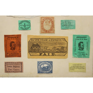 United States Private Office Postage Stamps