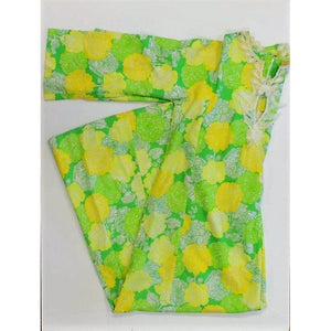 Lilly Pulitzer Lemon & Lime Floral Pattern Sundress Sz: Lg
