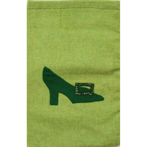 Applique Shoe Bag