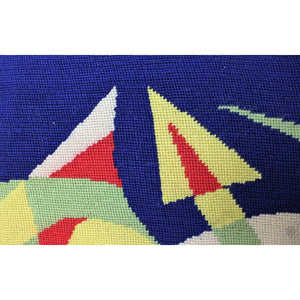 Cubist RE-68 Needlepoint Rug