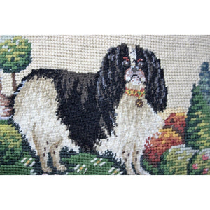 Needlepoint Cocker Spaniel by CT Needlepoint Pillow