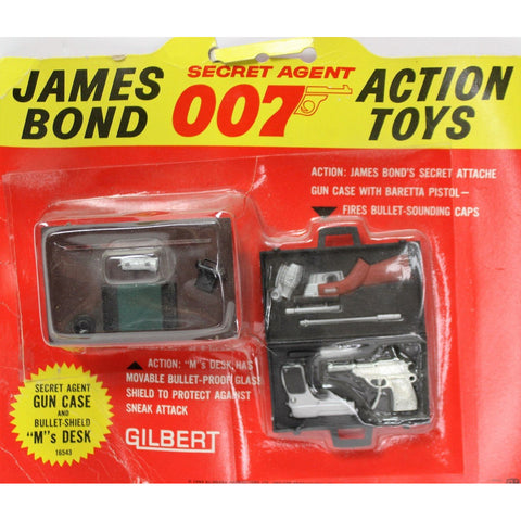 """James Bond Secret Agent Attache Gun Case"""