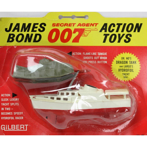 """Dr. No's Dragon Tank & Largo's Hydrofoil Yacht"""