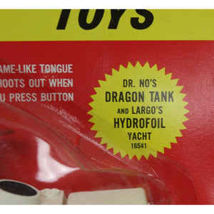 Dr. No's Dragon Tank & Largo's Hydrofoil Yacht