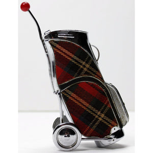 Tartan Golf Pull Cart Lighter