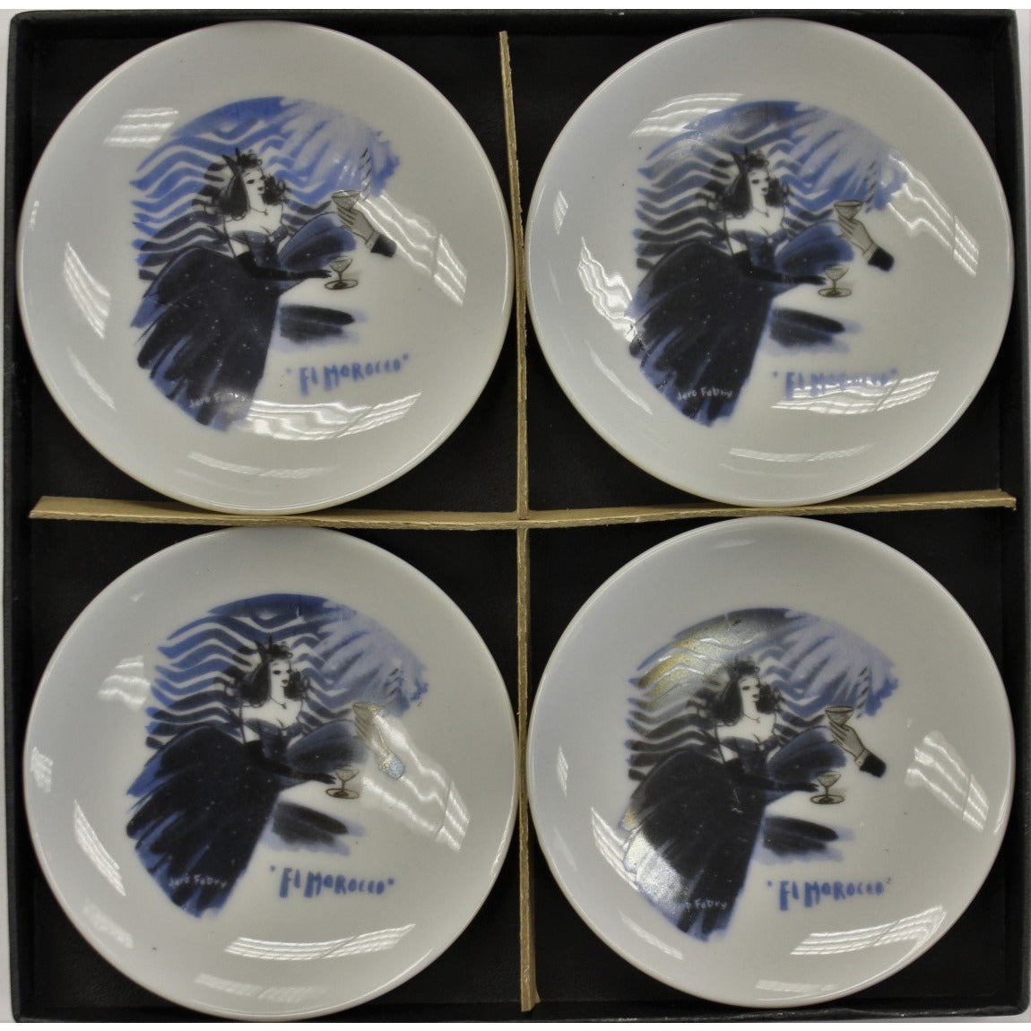 Set of 4 El Morocco Club Ashtrays