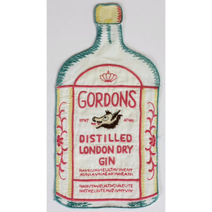 Gordons Distilled London Dry Gin Linen Cocktail Napkin