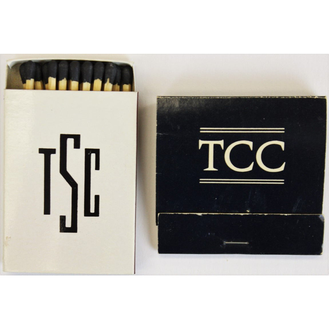 The Crane Club & The Spy Club Matchbooks