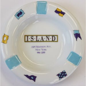 J. McLaughlin Island Restaurant Ashtray