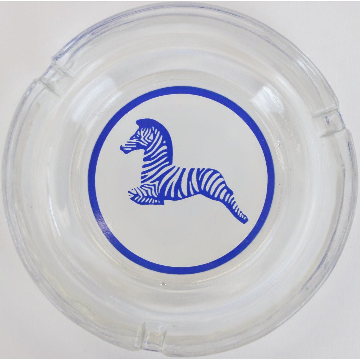 El Morocco Club Zebra Glass Ashtray