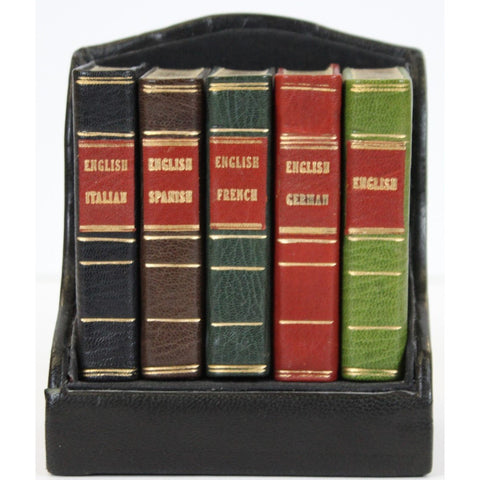 Midget Series Dictionaries in French, German, Italian, Spanish & English