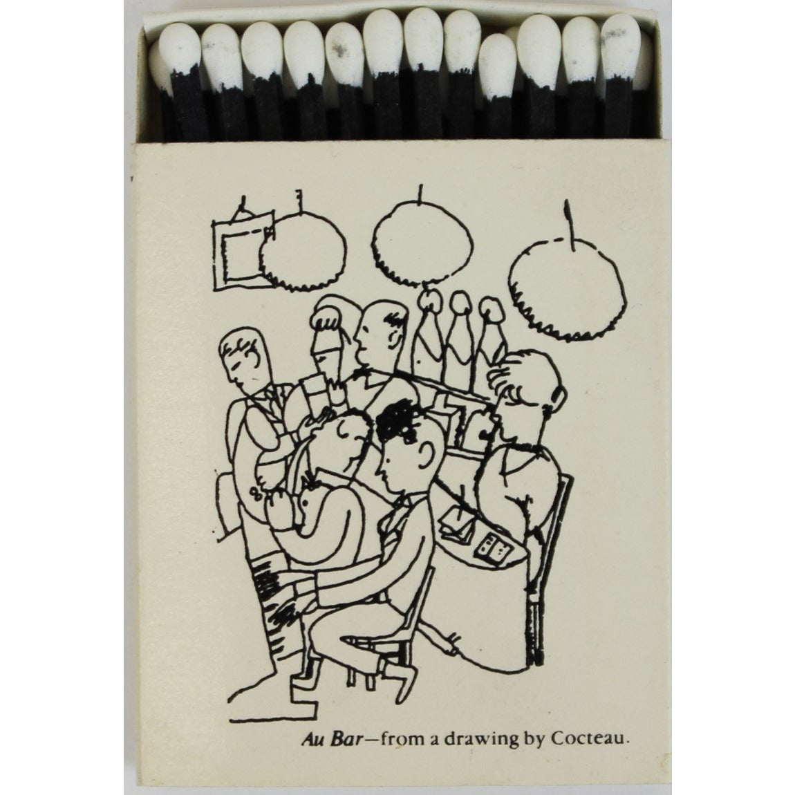 Au Bar Matchbook