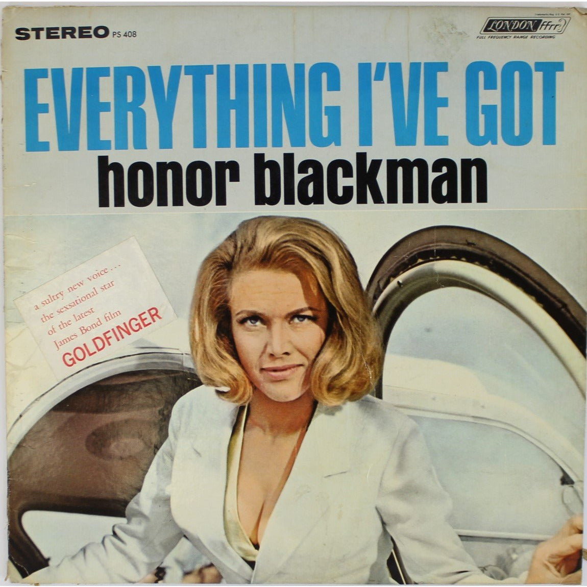 Everything I've Got by Honor Blackman LP