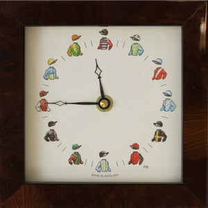 12 Jockeys Quartz Clock