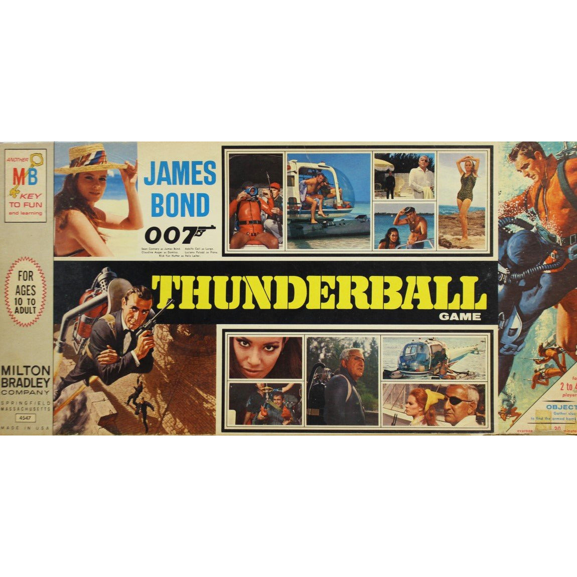 James Bond Thunderball Game