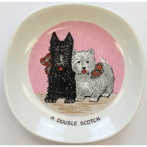 A Double Scotch Ashtray