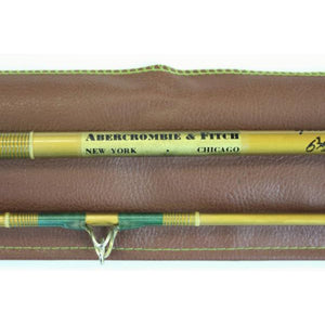 'Abercrombie & Fitch Yellowstone Fly Rod w/ Cork Handle' New/ Old c.1960's Stock