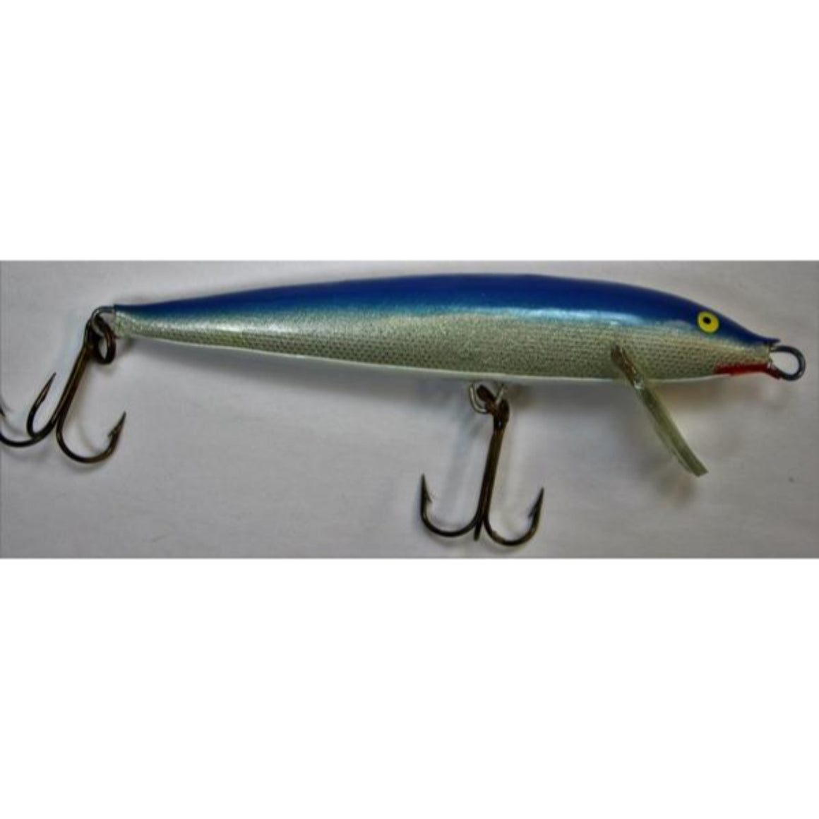 'Blue Rapala Countdown Fishing Lure Made in Finland'